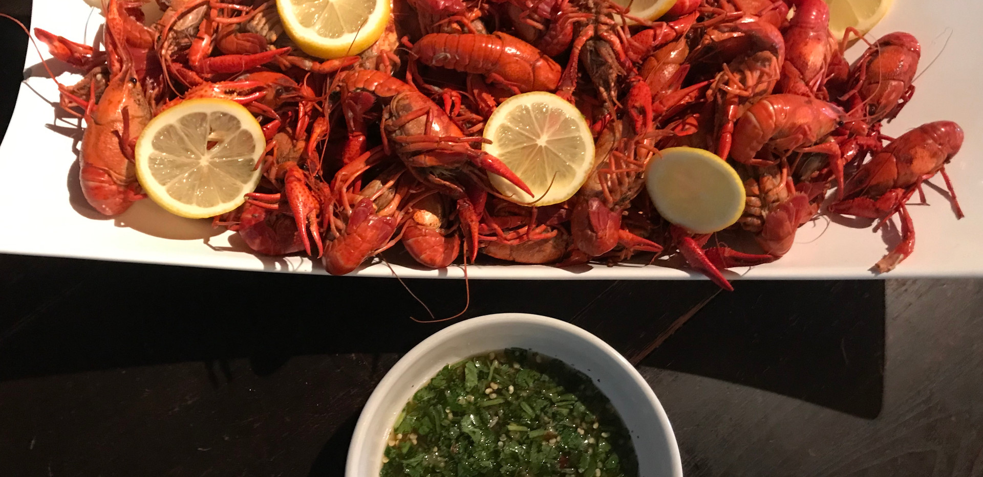 Live Crawfish Boil