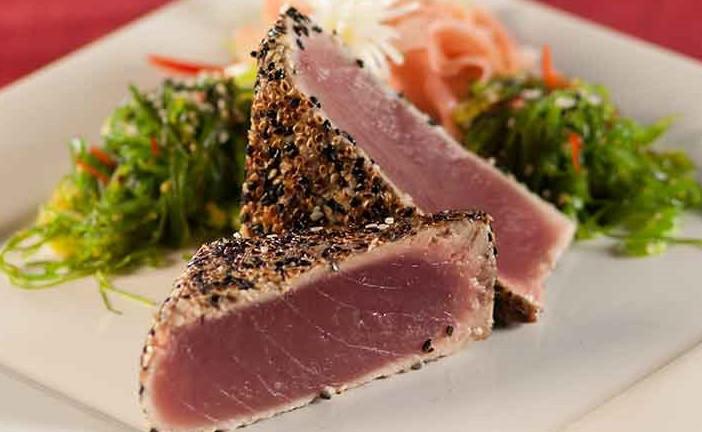 Sesame Crust Seared Ahi Tuna