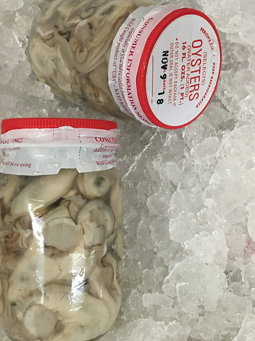 Fresh Shucked Oysters (INSTANT ORDER)