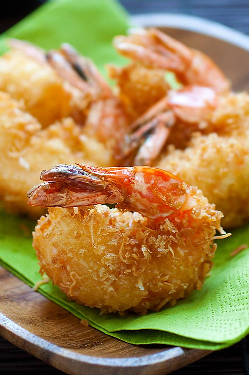 3LBS Box Coconut Battered Butterfly Shrimp