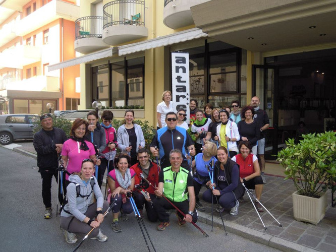 Nordic Walking verso il Monte San bartol