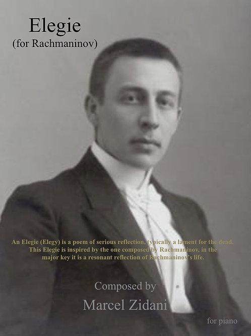 Elegie For Rachmaninov