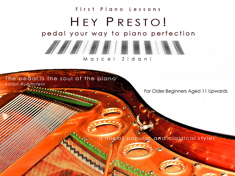 Learn Piano  Hey Presto! Adults and those Aged 11 and over
