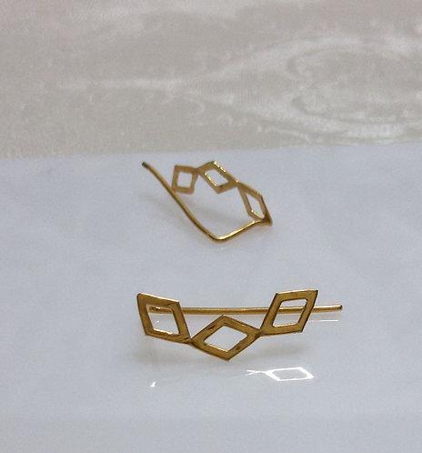 Rhombuses earring / עגיל מעוינים
