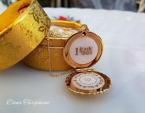 מתנה מרגשת לאמא לכבוד החג, שרשרת עם חריטה של שמות הילדים והנכדים