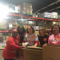 MLK Day of Service at the Foodbank