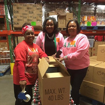 MLK Day of Service 2019 at the Foodbank