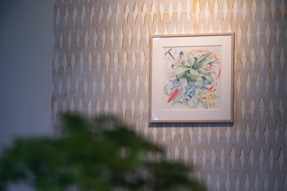 """drawing """"tokyo botanical garden#4"""", and  """"TUTUMU"""""""