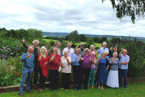 Burwash Save our Fields Group Photo