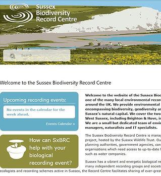 sussex biodiversity record centre sbrc