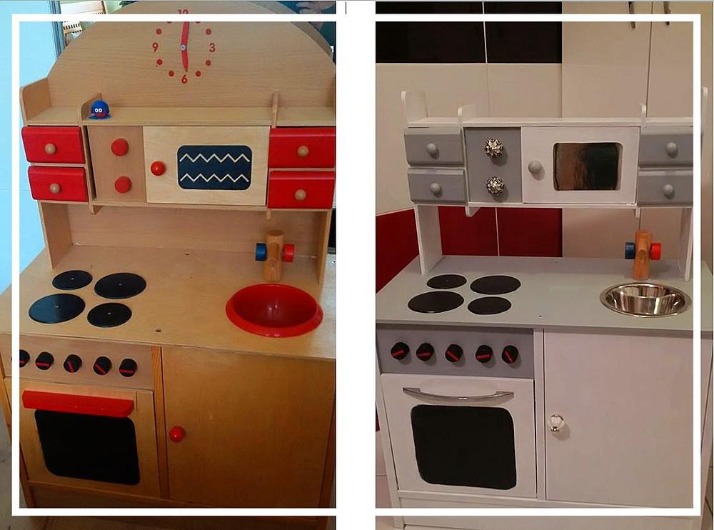 renovace dětské kuchyňky