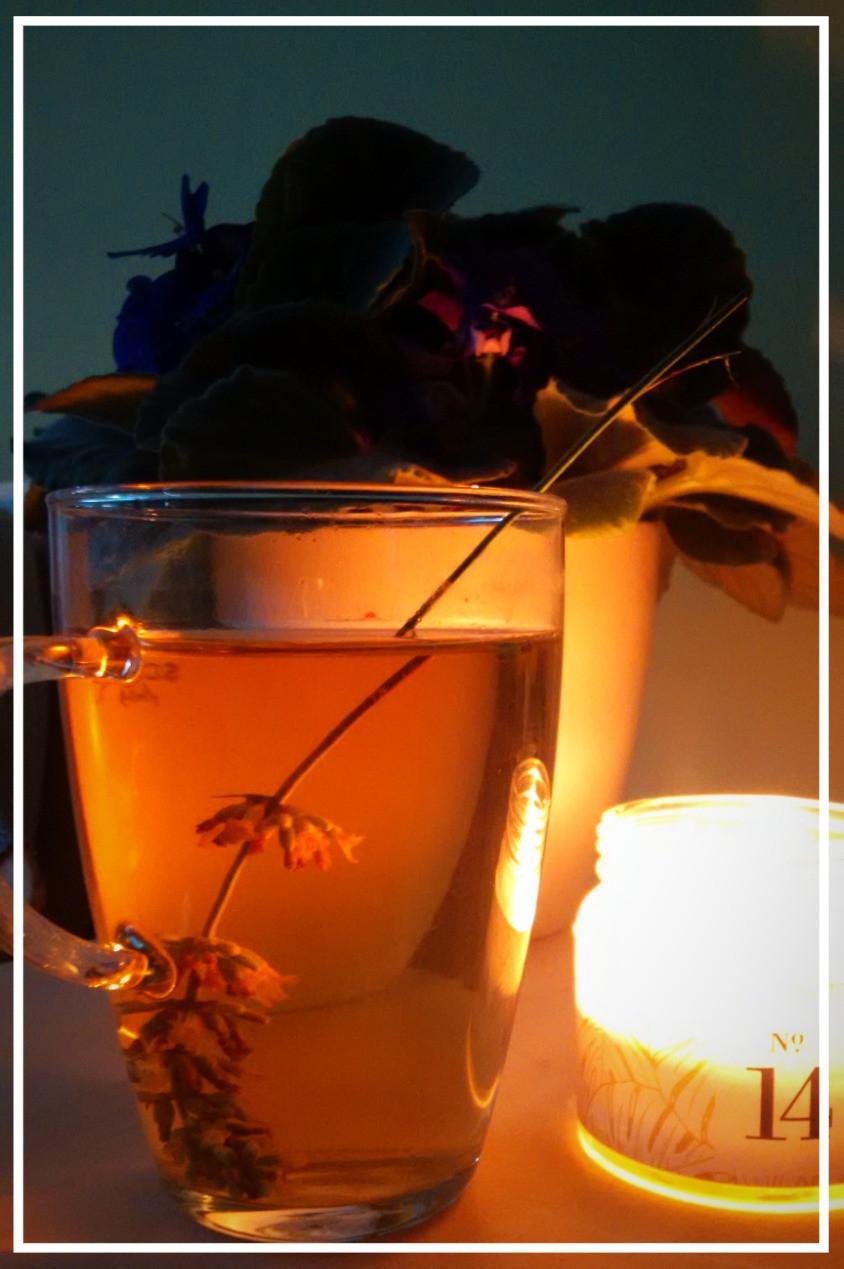 Relaxační čaj s levandulí