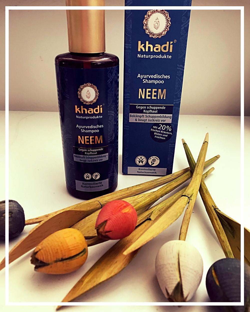 Ayurvédský šampon Khadi Neem