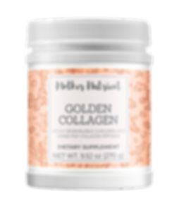 RENDERING GoldenCollagen - Transparent B