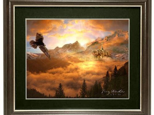 "Magnificent - Vista Framed Limited Edition Print 11"" x 14"" (Framed size)"