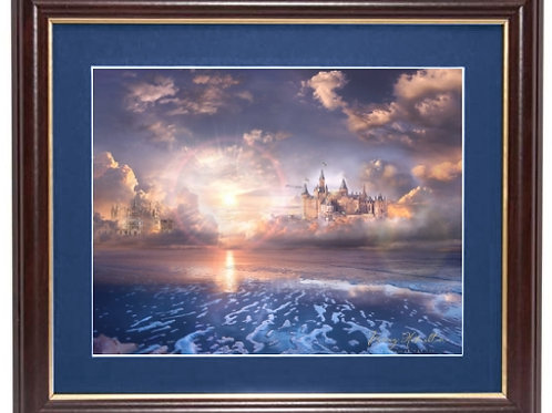 """By The Sea - Vista Framed Limited Edition Print 11"""" x 14"""" (Framed size)"""