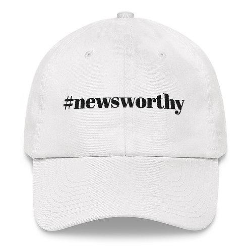 #newsworthy Cap - White