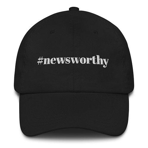 #newsworthy Cap - Black/Navy