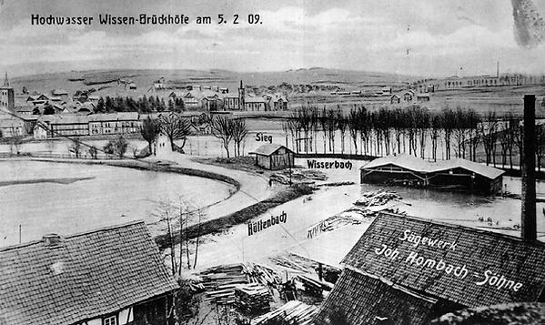 Hochwasser Wissen 1909.bmp