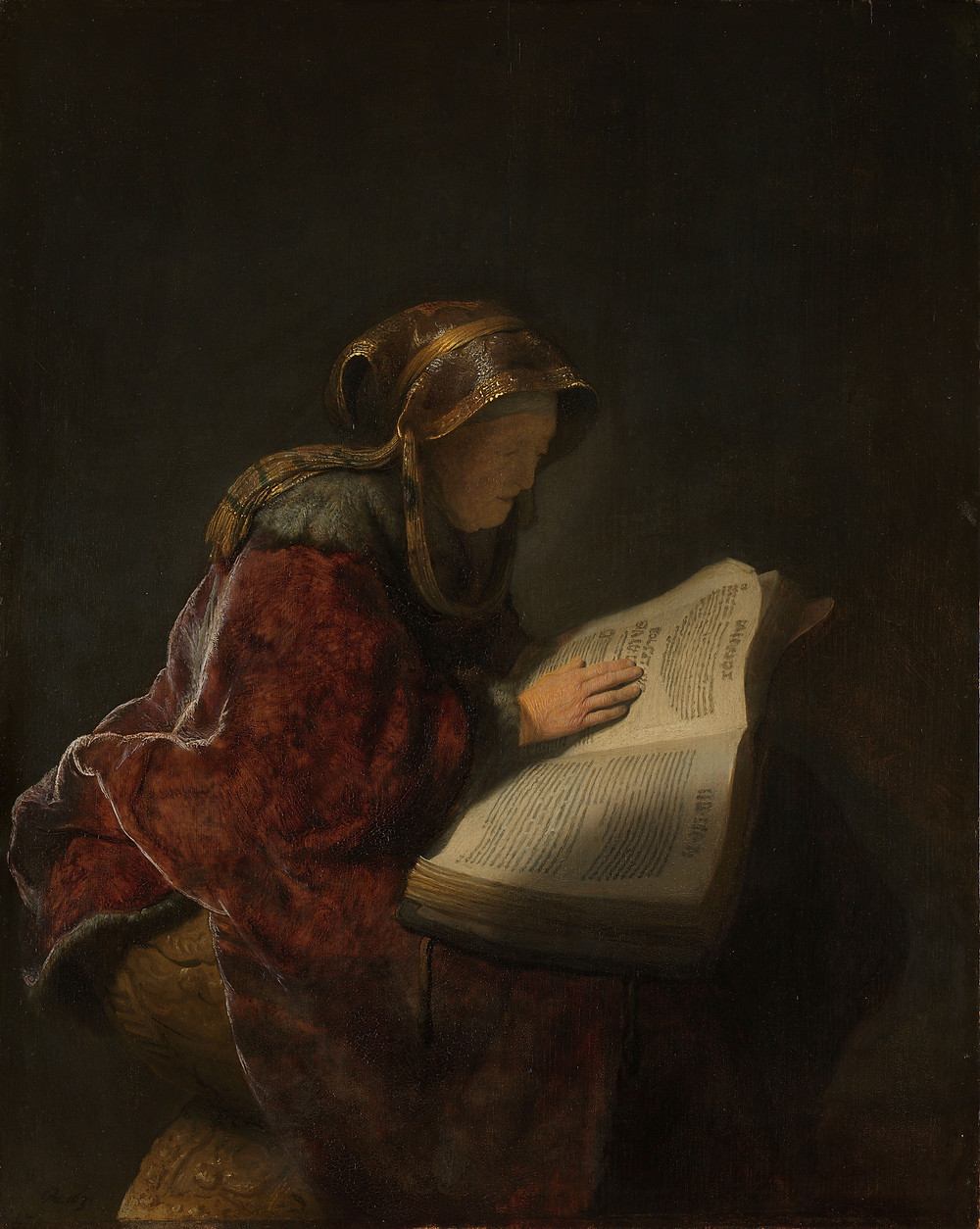 "Rembrandt's ""Old Woman Reading"""