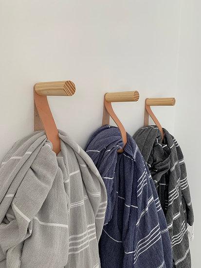 Wood & Leather Hangers