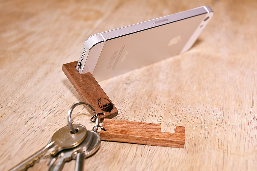 Keyring Phone Stand