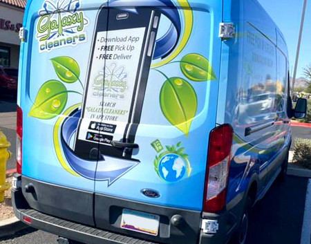 AZGP-Vehicle Wrap Van Galaxy Cleaner