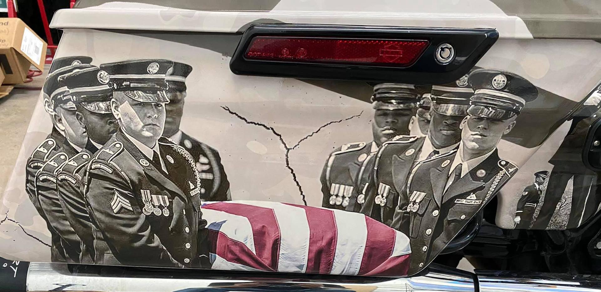 Harley for The Arizona Patriot Guard Riders Procession 2