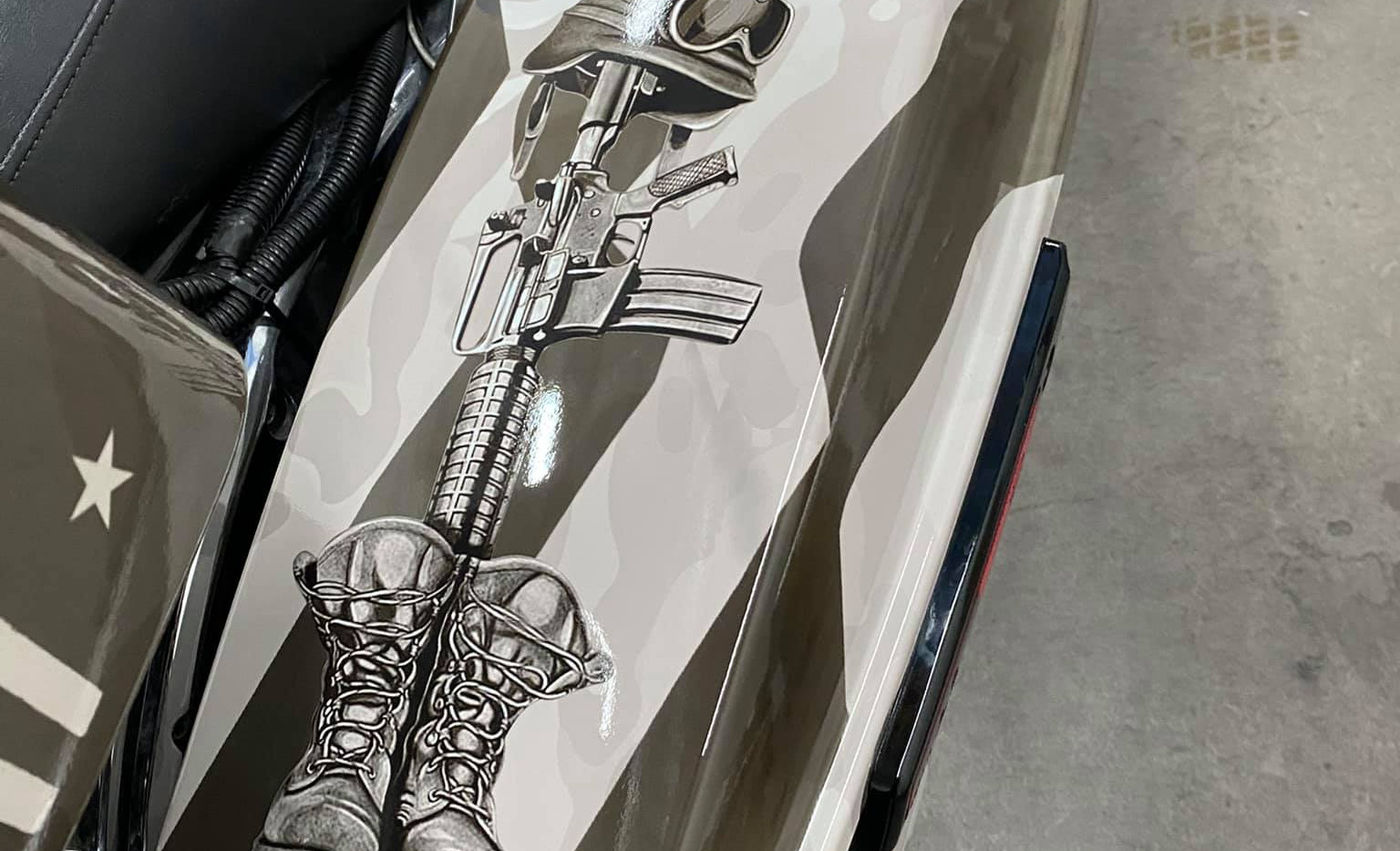 Harley for The Arizona Patriot Guard Riders Boots