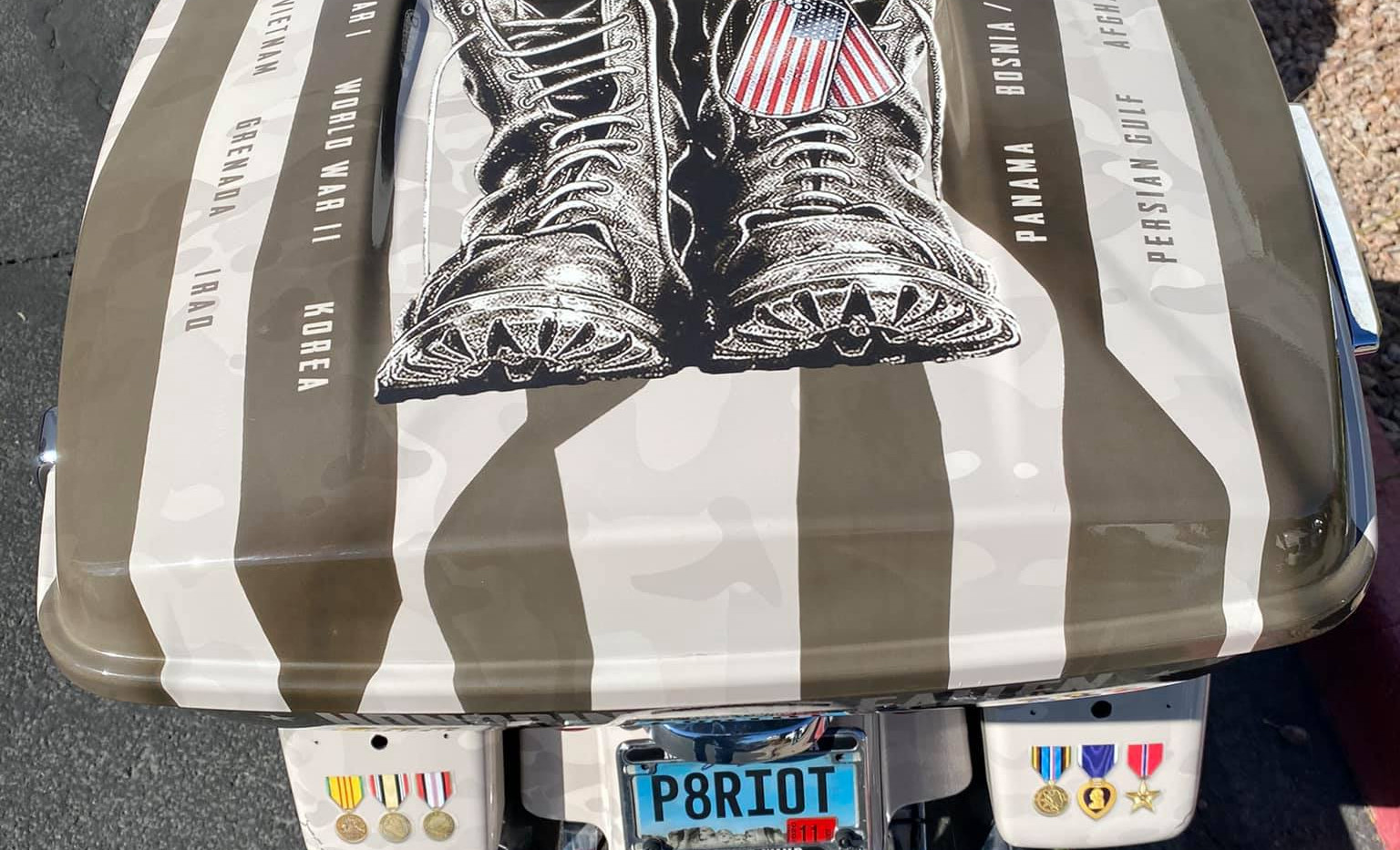 Harley for The Arizona Patriot Guard Riders Boots 2