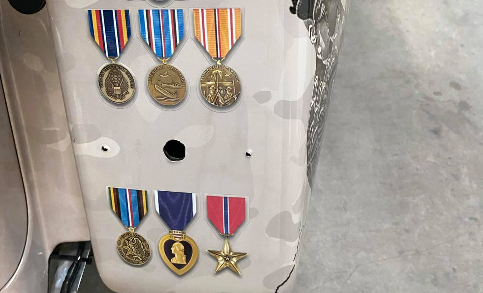Harley for The Arizona Patriot Guard Riders Medals