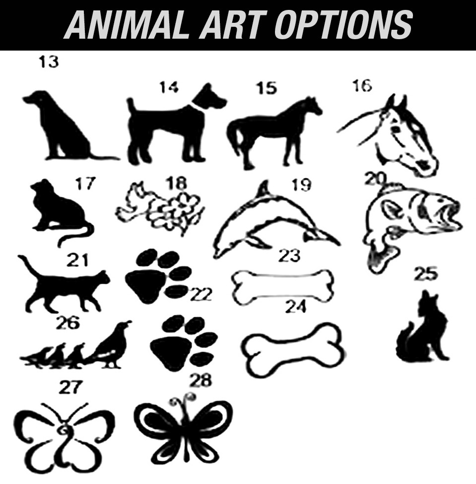 Happy Trail Sign Animal Art Samples.jpg