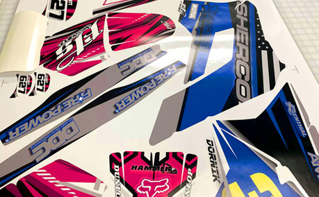 AZGP-Vehicle Wrap UTV Decals 2