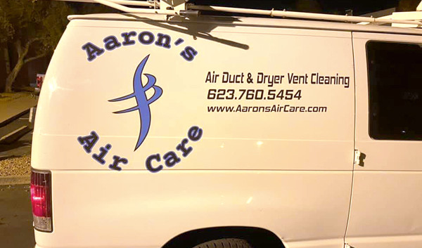 AZGP-Vehicle Wrap Van Aarons Air Care