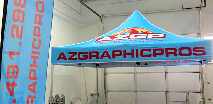AZGP-Tent and Flag