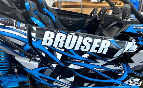 AZGP-Vehicle Wrap UTV Can Am X3 Bruiser