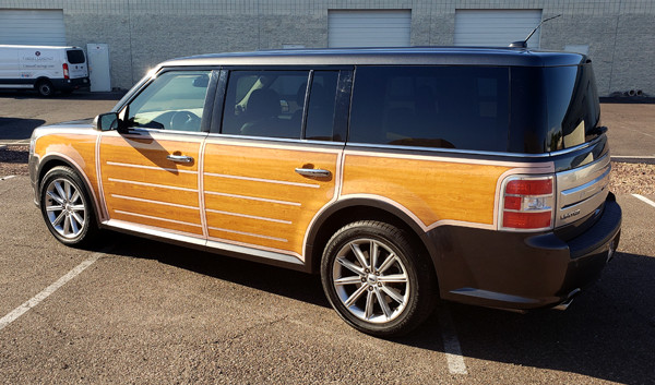 AZGP-Vehicle Graphics Ford Flex Woody-WE