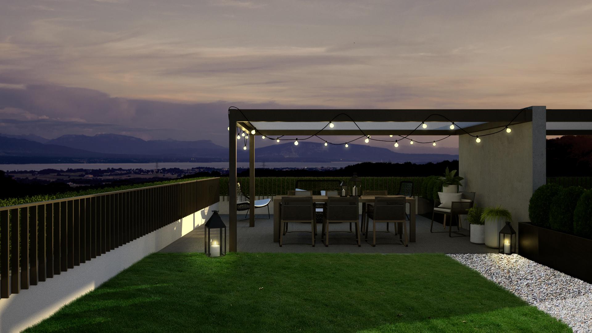 Vue terrasse villa B04 modif