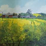 Trellech Barns and Yellow Field
