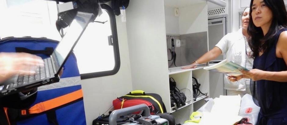 フランスの救急医療システム SAMU
