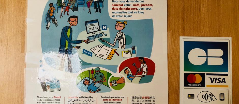 フランスの健康保険証 ヴィタル・カード