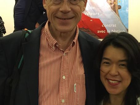 フランスのAI、IT医療界の寵児、Dr.Laurent ALEXENDREと。