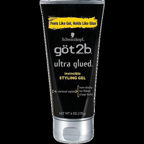 Got2b Gel | Ultra Glued | Black | 6oz