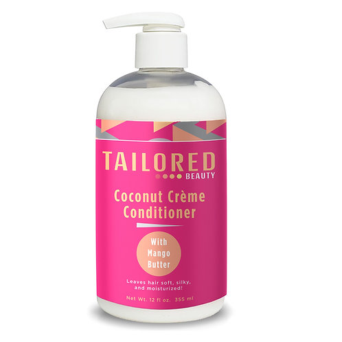 Tailored Beauty Coconut Crème Conditioner with Mango Butter