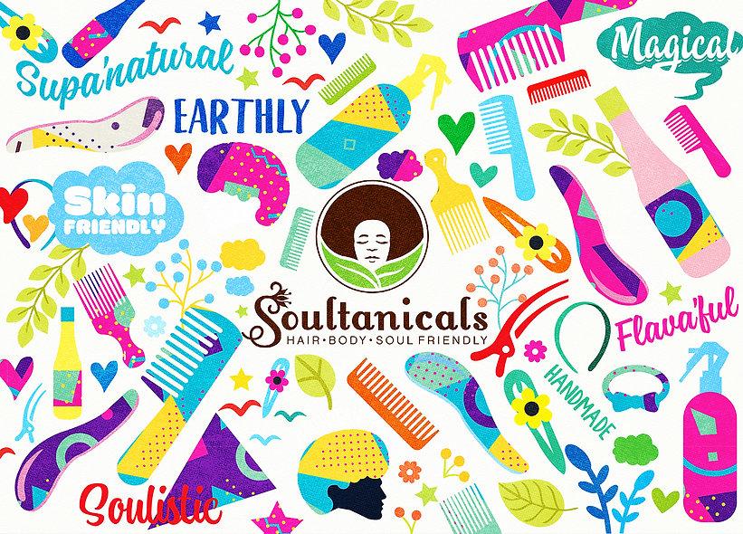 Soultanicals+Packaging+&+illustration+De