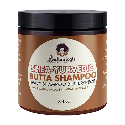Shea-Yurvedic Butta Shampoo-8 oz