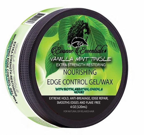 Vanilla Mint Tingle Extra Strength Restoring Edge Control GEL/WAX