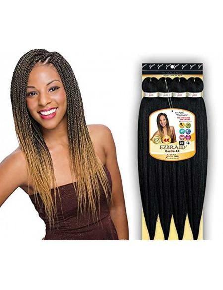 """Spetra Innocence Luxury Premium Braiding Hair EZ Braid 26"""" Quatro 4x PACK"""