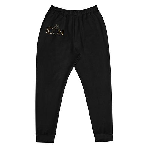Black ICON Joggers