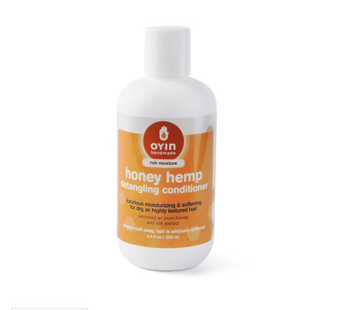 Honey Hemp ~ Detangling and moisturizing hair conditioner